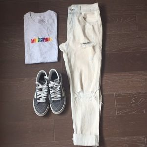 American Eagle Outfitters Tom Girl Jeans